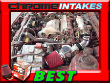 K&N+BLACK RED 86-89 TOYOTA CELICA ST/GT/GTS 2.0L 4CYL AIR INTAKE INDUCTION KIT