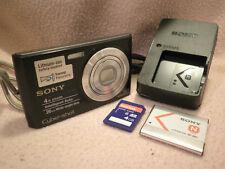 FOTOCAMERA DIGITALE SONY CYBER-SHOT DSC-W510 12.1MP 4XZOOM PERFETTA #