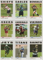 2004 Topps Football Team Sets **Pick Your Team**