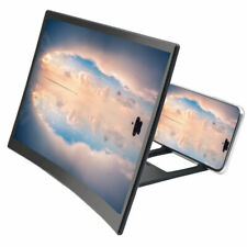 Mobile Phone Video Curved Screen Amplifier 3D HD Magnifier Stand Bracket Holder