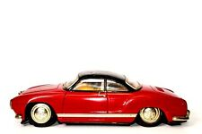 VERY RARE JAPANESE TIN FRICTION VOLKSWAGEN KARMANN GHIA 2-DOOR COUPE BY ATC