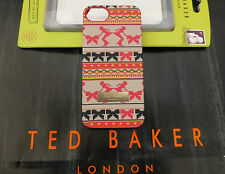 TED BAKER Hard Case Slip-on Rigid Back Cover For Apple iPhone 5 5s BNIP RP£25