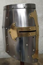 Medieval Knight Templar  Helmet with liner Medieval Reproduction Helmet