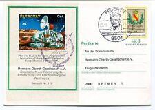 1978 Paraguay Hermann Oberth Gesellschaft V Feucht Weltraums Deutsche Bundespost