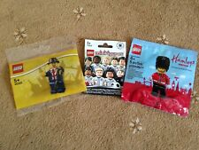 Exclusive LEGO Minifigures polybags: Lester, Hamleys Guard, German football CMF