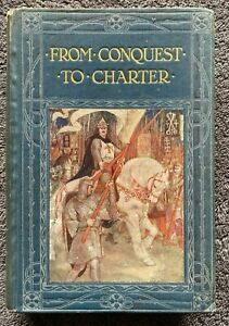 1911 1st FROM CONQUEST TO CHARTER Estelle Ross w 241 Illustrs, free EXPRESS w/w