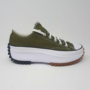 NEW Converse Run Star Hike Ox Low 168818C Dark Moss Shoe Sneaker Men 7.5 / Wmn 9