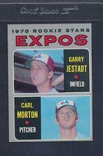 1970 Topps #109 Expos Rookie Stars Jestadt/Morton EX *885