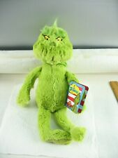 Dr. Seuss The Grinch plush toy with tag 2018