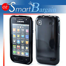 Black Soft Gel TPU Cover Case F Samusng Galaxy S i9000