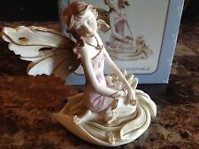 "New in box 5"" Fairy figurine-purple dress"