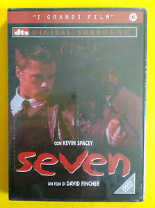 DVD Film Ita Thriller SEVEN Kevin Spacey Brad Pitt Gwyneth Paltrow no vhs cd(D6)