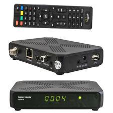 Golden Interstar ALPHA X Digital Full HD DVB-S2x H.265 Multistream Receiver IPTV
