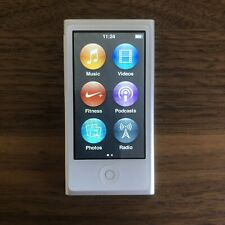Apple iPod Nano 7th Generation Silver 16 GB Includes New Earphones