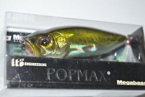 "megabass yuki ito popmax USA pop max 3 1/4"" 1/2oz bass popper gg bass"