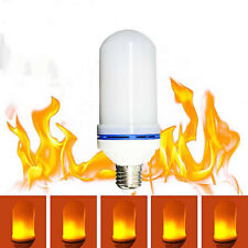 LED Flicker Flame Effect Light Bulb with Upside Down Effect - 6W 3 Modes