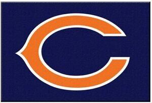 """Fanmats NFL Chicago Bears Rookie Mat Area Rug Bath Mat 20""""x 30"""""""