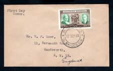 Southern Rhodesia - KGVI 1950 Diamond Jubilee First Day Cover