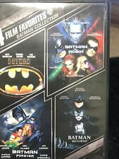 Batman Collection (DVD 2009, 2 Disc) Micheal Keaton, Jack Nicholson, Uma Thurman