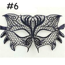 HOT Sexy Stunning Eye Lace Mask Fancy Dress Costume Masquerade Party Dress #6 @T