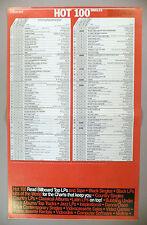 "Billboard Magazine ""Hot 100 Singles"" - July 6, 1985 ~ ""Sussudio"" Phil Collins"
