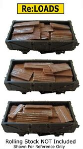 Scrap Metal Corrugated Iron, Steel Loads, N Gauge Fits Peco, Farish 10 Ton Wagon