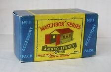 Repro Box Matchbox Accessory Pack Nr.3 Garage