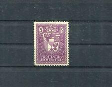 Liechtenstein 1935 stemma cert oliiva MNH