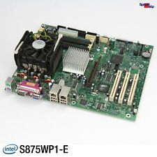 Intel Lavagna S875WP1-E Entry Server Scheda Madre Pentium 3.2GHZ Cooler