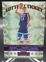 2019-20 Panini Contenders Basketball Lottery Ticket Jarrett Culver RC T-Wolves