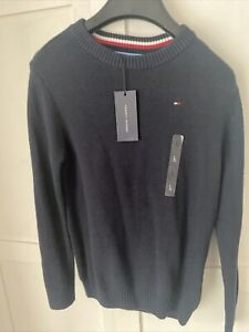 Brand New With Tags Boys Tommy Hilfiger Jumper Age 12-14