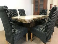 marble dining table and 6 chairs **Grand Design**unbeatable prices**
