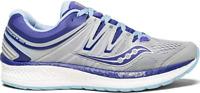 Saucony Women's Hurricane ISO 4 Running Shoes Size 6M Grey/Purple