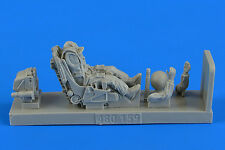 Aerobonus 1/48 Soviet Fighter Pilot w/Ejection Seat for Su-27 Flanker # 480159
