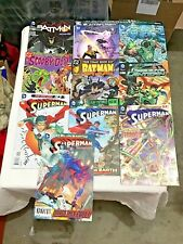 DC Comic Book Lot Of 10 Superman Green Lantern Batman Scooby-Doo