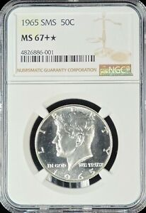 1965 Kennedy Silver Half NGC MS-67+ *STAR* SUPERB!