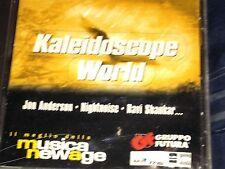 KALEIDOSCOPE WORLD CD New Age Sampler Promo Jon Anderson Ravi Shankar RARE NEW