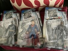 "Justice League Movie 6""  Figures Batman, Superman And Cyborg Figure Sets"
