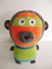"Ze Super Zeros Zonk The Monkey Plush Stuffed Animal Toy 9"""