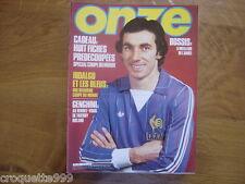 1982 ONZE football #73 Hidalgo et les bleus AVEC FICHES