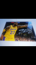 LeBron James Hand Signed Autograph Photo #23 Los Angeles Lakers 🏀