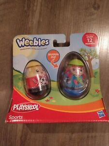 BRAND NEW! PLAYSKOOL WEEBLES, SPORTS COLLECTION!