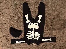 Baby Skeleton Outfit, 0-3 Months. Halloween, Novalty