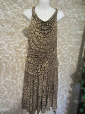 Focus 2000 2 pc. Rayon Animal Print Skirt Outfit Sz. M