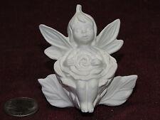 Ceramic Bisque Gare Dewdrop Fairy Holding a Flower U-Paint Garden Dew Drop