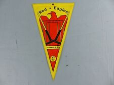FANION PENNANT ICE HOCKEY GLACE RED EAGLES HERTOGENBOSCH HOLLAND WIMPEL BANDERIN