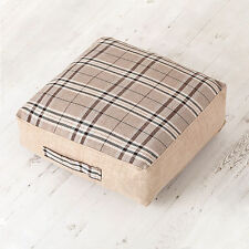 Polyester Tartan Square Decorative Cushions