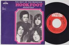 HOOKFOOT * UK PROG PSYCH * 1969 French 45 * Caleb Quaye *