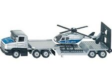 Siku Diecast Vehicle Model - 1610 Low Loader With Helicopter