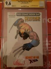Free Comic Book Day 2009 #1 *Signed* Wolverine: Origin Of An X-Man CGC 9.6